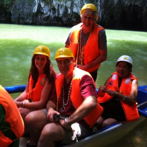 Getting ready for the underground river